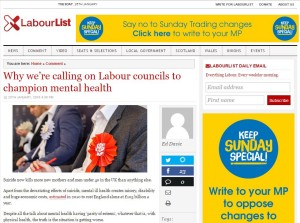 Member Champion Ed Davie for LabourList // The Local Authority